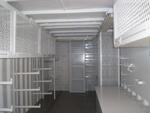 Storage Container Storage and Shelving