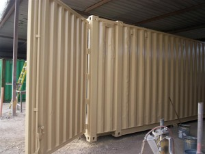 Large Custom Door cargo container