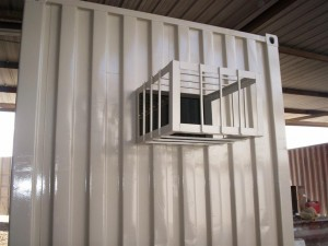 shipping container ac unit, temperature controlled, container specifications