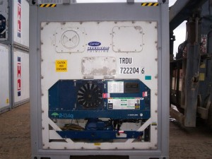 Refrigerated Container, reefer container