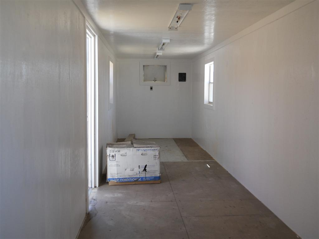 custom fabricated steel shipping container