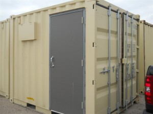 10' modified container