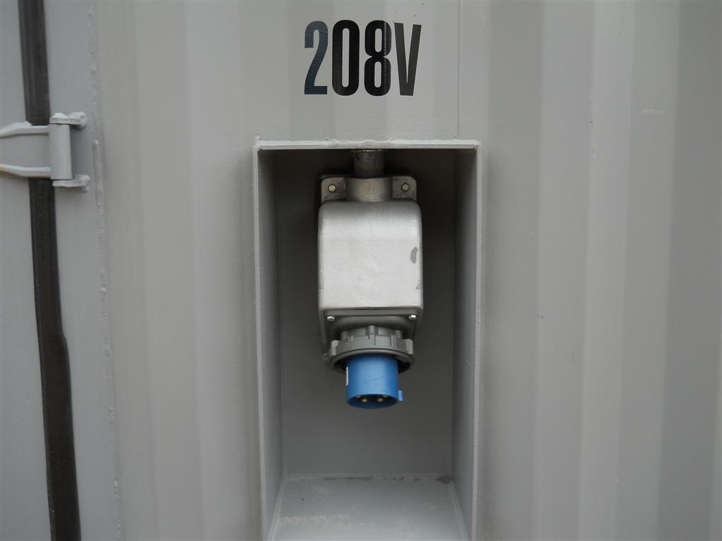 container modifications, electrical