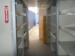 Storage Container Shelving
