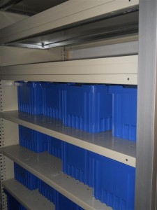 Container Cabinet System