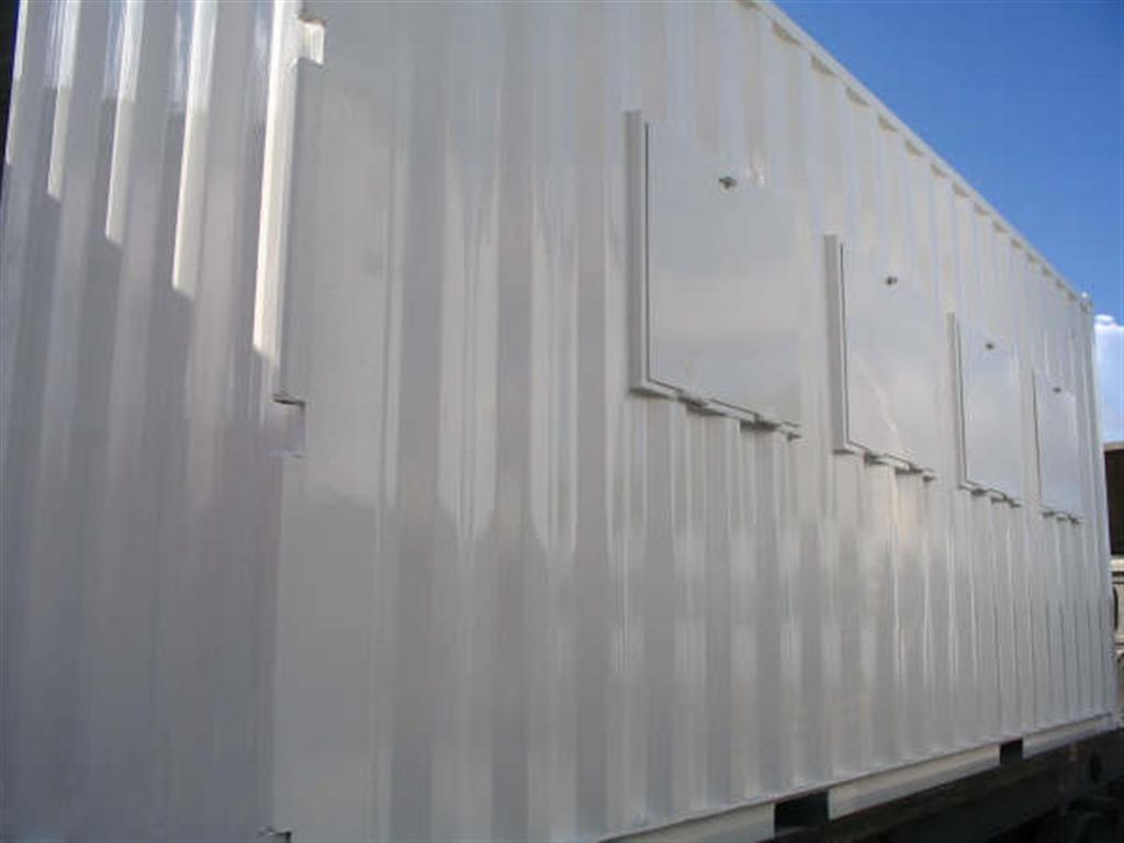 custom shipping container windows
