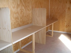 Building Custom Work Space in a container