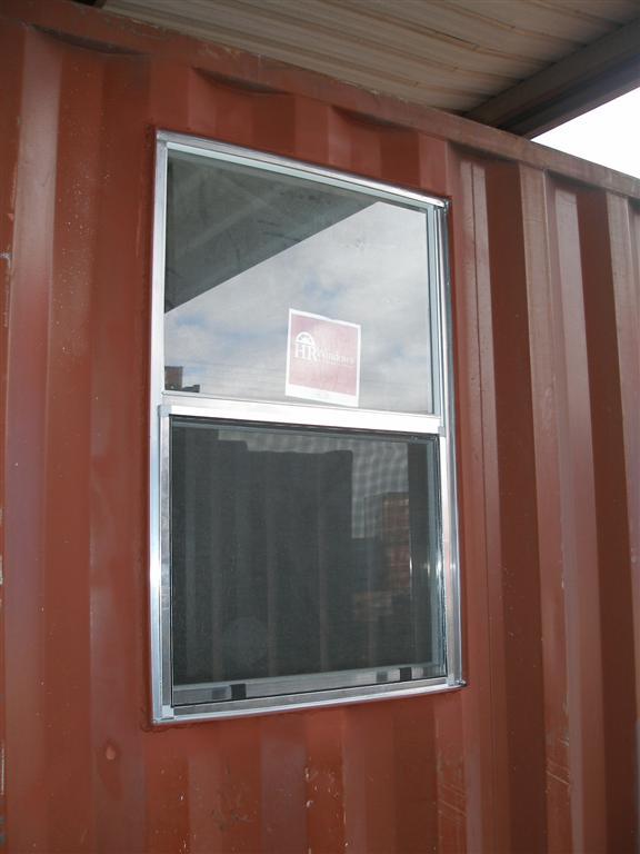 Custom Side Window Installation