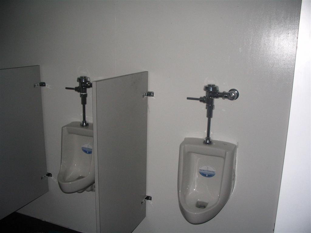 shipping container bathroom urinals