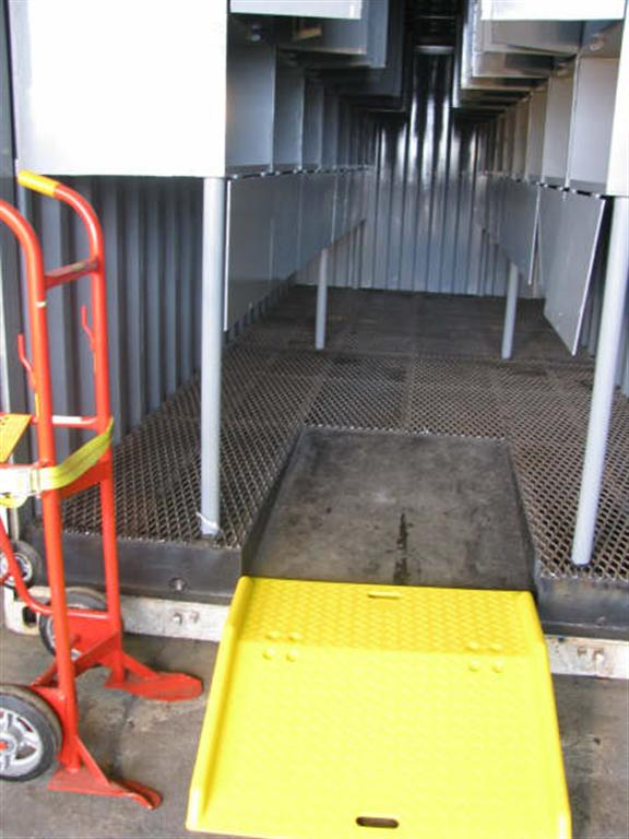 Ramp and Custom container Configuration