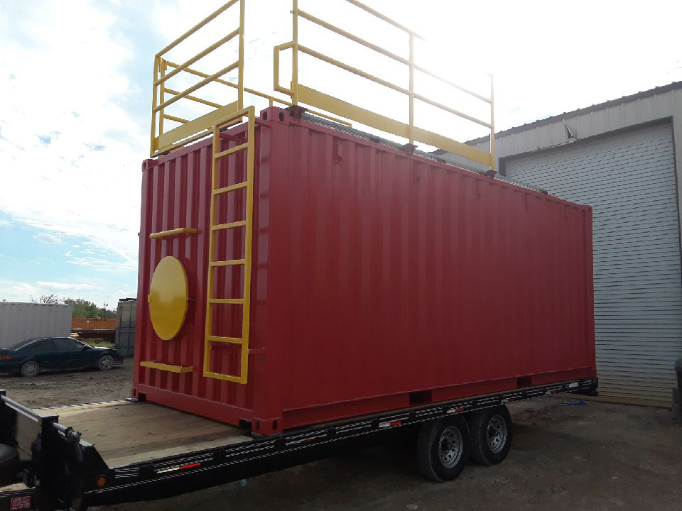 Mobile Confined Space Training Container