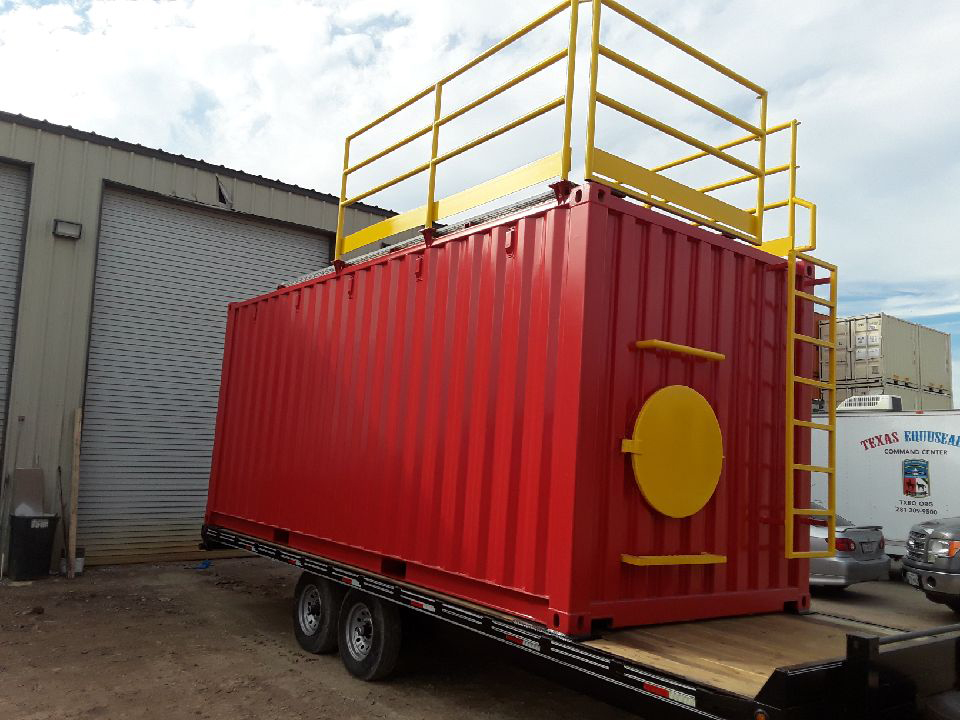 Mobile-Training-Containers