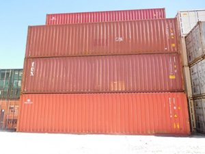 40' High Cube Used Container For Sale