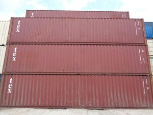 40' Used Container For Sale