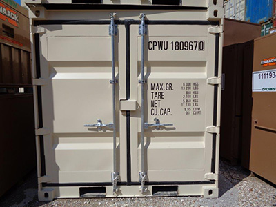 8' New Container For Sale