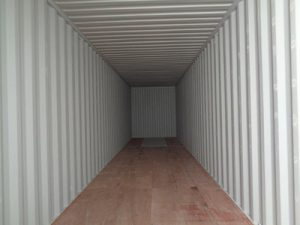 Inside of 40' New Container For Sale