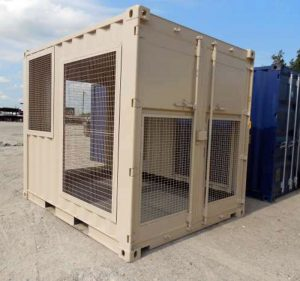 modified 10 ft container
