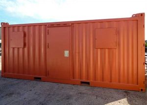 Advanced Container modified container