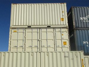 20 ft Open Side Container sample