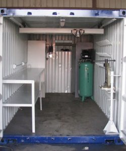 Shipping-Container-Workshop-interior